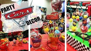cars 3 birthday party decor diy