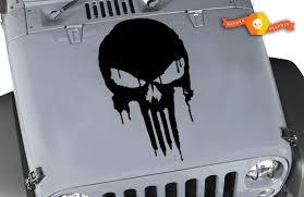 Product Jeep Decal Wrangler Hood Fender Window Door Decal Rubicon Sahara Punisher