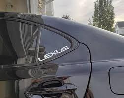Lexus Decal Etsy