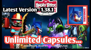 Angry Birds Transformers Mod apk Latest Version - 1.38.1 - YouTube