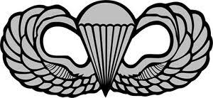U S Army Airborne Wings Wall Window Vinyl Decal Sticker Military Ebay