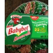mini babybel mozzarella cheese
