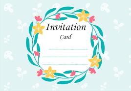 modèle de carte d invitation des