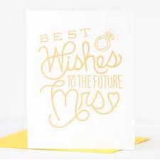 best wishes bridal shower card best