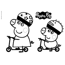 Peppa Pig Schetsboek A4 Stencils Stickers Online Kopen