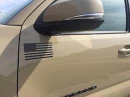 Universal American Flag Vinyl Decal Pair 6 X 3 Toyota Proshop