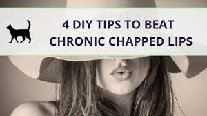 bat chronic chapped lips