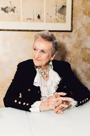 a grande dame of the perfume industry