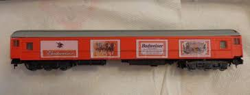 Budweiser Beer Car Decals For Model Trains