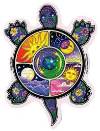 Night And Day Turtle Window Sticker Decal Peace Resource Project