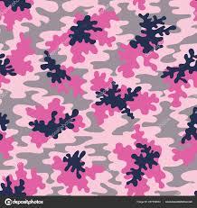 pink camo vector seamless