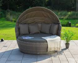 rattan round daybeds available at an