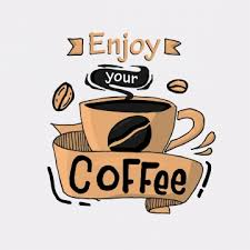 coffee quote png vector psd and clipart transparent