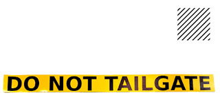 Decal Do Not Tailgate Taxidepot