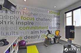 Graphic Wall Decal Is All About Keeping You Focussed Description From Pinterest Com I Searched For This On Bing Com Image Gym Room Home Gym Design Gym Design