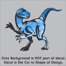 Raptor Decal Sticker For Car Or Truck Window Free Shipping Velociraptor Rainbowlands Lk