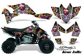 Amr Racing Graphic Decal Sticker Kit Atv Suzuki Ltr450 Lt R450 Quad Ed Hardy Lkb Can Am Atv Suzuki Girls On Bike