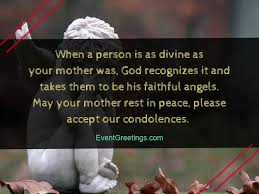 condolence message on death of mother sympathy quotes