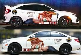 Anime One Piece Sexy Girl Nami Car Door Body Vinyl Sticker Decal Fit Any Car Ebay