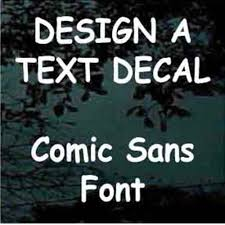 Calligraphy Vinyl Lettering Decals Car Window Stickers Decal Junky