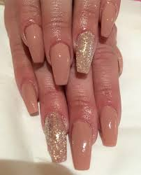 🌟 acrylic nails with nude gel🌟 - Ophelia Smith Nails and Beauty | Facebook