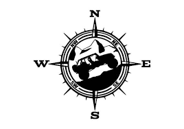 Mountain Vinyl Decal For Wranglers Car Decal Compass Decal Etsy Jeep Decals Jeep Tattoo Wrangler Car