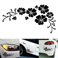 Butterfly Flower Decoration Car Sticker Rear Windshield Car Sticker Buy At A Low Prices On Joom E Commerce Platform
