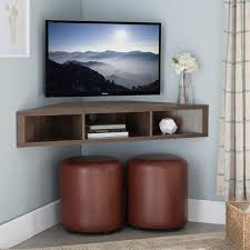wall mounted media console