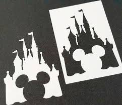 Castle Airbrush Paint Stencils Kids Party Cards Cake Cupcake Table Wall Home Room Decoration Buy Party Stencil Cake Stencil Home Decoration Product On Alibaba Com