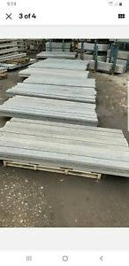 Buy Direct New Concrete Fence Post Slotted 6ft 7ft 8ft 9ft 10f Gravel Boards Ebay