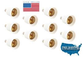 10x e12 to e26 e27 a19 base light bulb