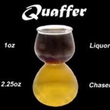 track quaffer the double bubble shot
