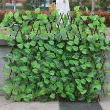 Artificial Faux Ivy Leaf Privacy Fence Screen Garden Decor Panels Outdoor Decor Ebay