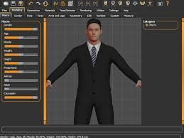 free 3d cg character creation software