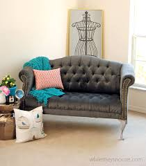 how to reupholster a tufted couch