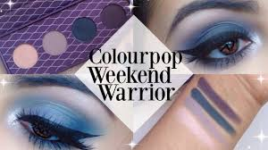 colourpop x amanda steele weekend