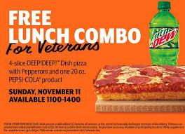 little caesars pizza treats veterans