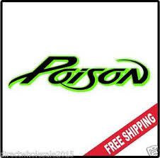 Poison Vinyl Wall Logo Decal Sticker Heavy Metal Rock Band Bret 80 S Various Ebay