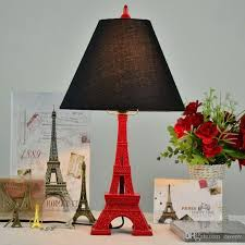 2020 Oovov Vintage Eiffel Tower Study Room Table Lamp Creative Bedroom Table Lamps Kids Room Desk Lamp Lights From Oovov 80 41 Dhgate Com