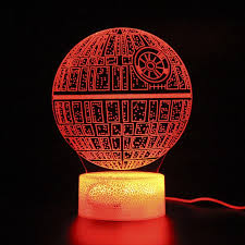 Star Wars Planet Kids Room Sleep Lights Touch Lamp Remote Control 3d Table Lamp Light Party Decoration Nightlight Projection Aliexpress