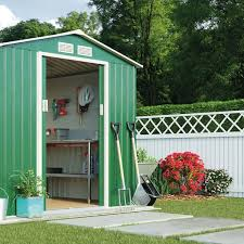 metal garden shed small outdoor storage