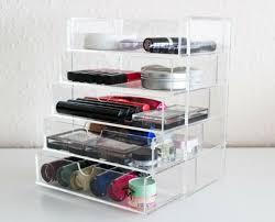 acrylic cosmetic makeup clear organiser