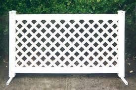 Free Standing Fence Google Search Espacios Para Perros Jardineria Patios