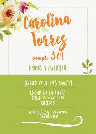 Invitacion De Cumpleanos Adultos Inkterest
