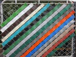 Privacy Chain Link Fence Weaving Chain Link Fence Cover Chain Link Fence