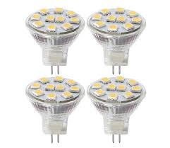 pack of 4 led spot light mr11 3 5w 35w