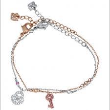 swarovski jewelry crystal wishes lock