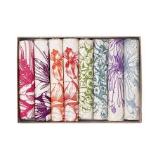 Boxed Gift Set of 8 Botanical Print Tea Towels by Abigail Ryan – McGovern  Home