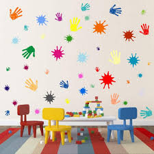 Primary Colors Wall Decals For Kids Room Buy Online In Israel At Desertcart