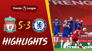 Highlights: Liverpool 5-3 Chelsea   Eight-goal thriller before the trophy  lift - YouTube